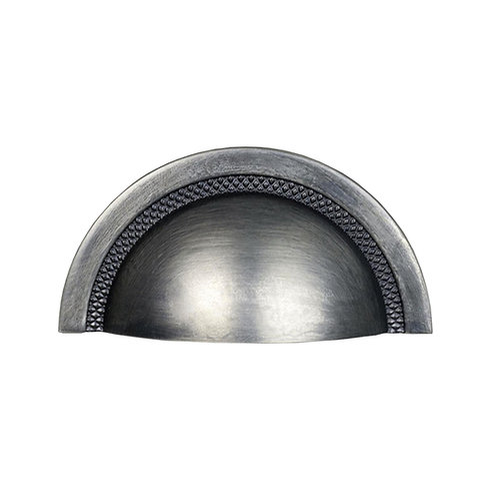 Puxador Zen Shell 48mm Niquel Vecchio
