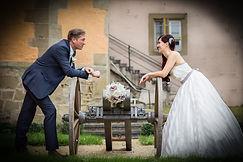 Hochzeitsmotiv Schloss