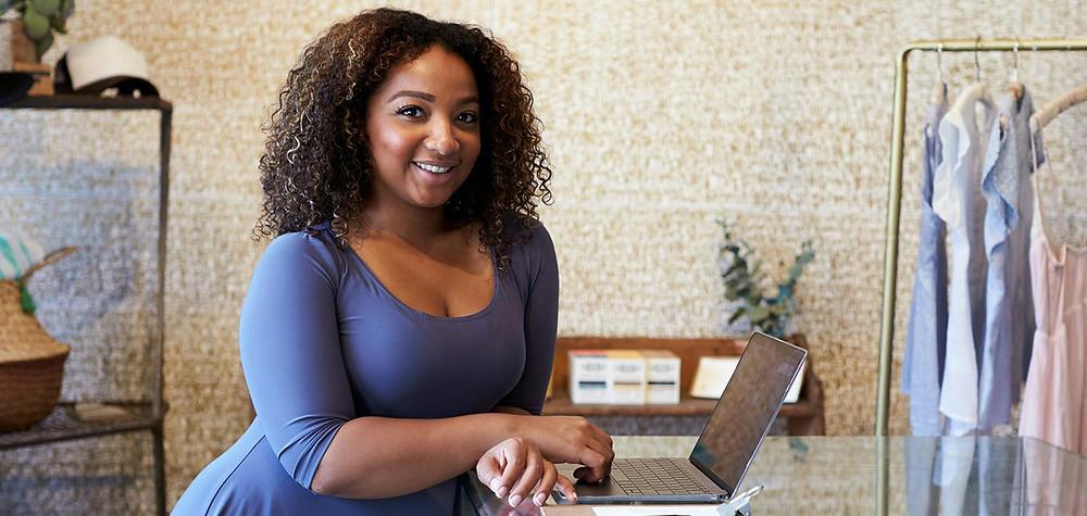 Mulher de negocios negra