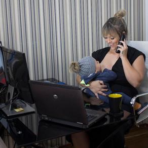 Como ser mãe, empreendedora e fazer o Home Office dar certo