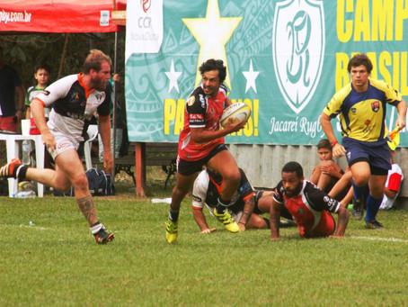 Jacareí Rugby enfrenta Guanabara (RJ) no sábado (1º) e busca manter liderança no grupo A do Super 16