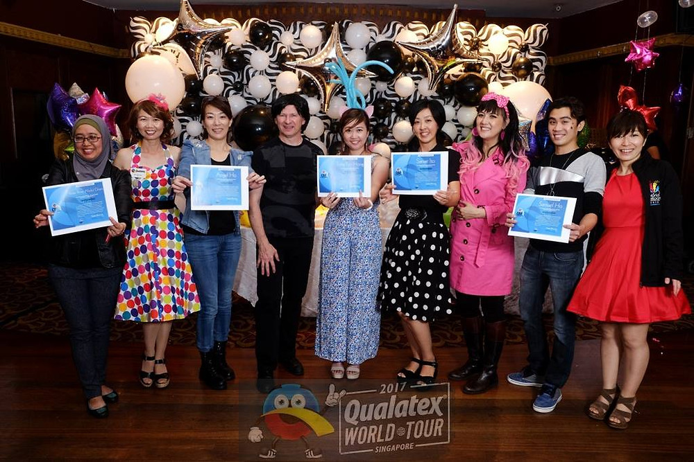 Asian CBA graduation during the Qualatex World Tour 2017