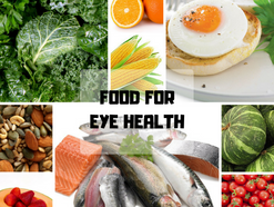 Foods to protect your eye health.
