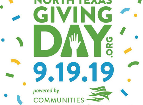 Today is North Texas Giving Day!