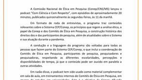 Podcast da CONEP