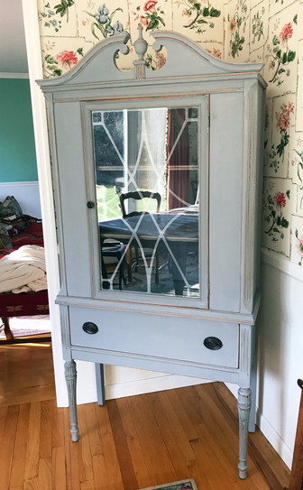Antique Display Cabinet - Commission