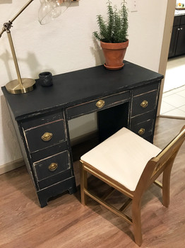 Drawing desk with chair