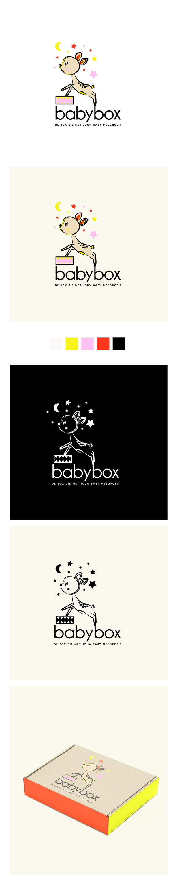 babybox logo design