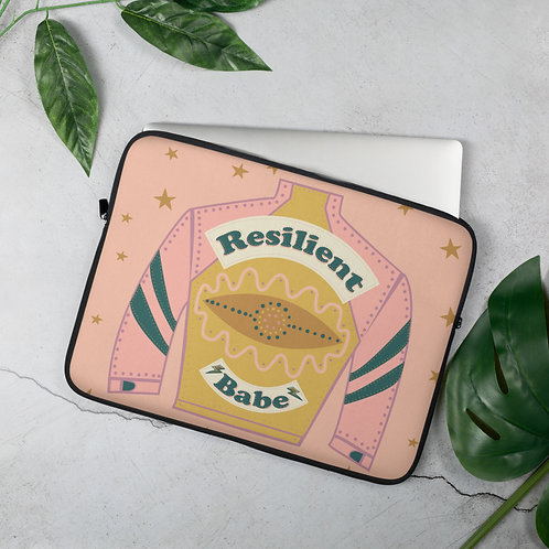 Resilient Babe - Laptop Sleeve