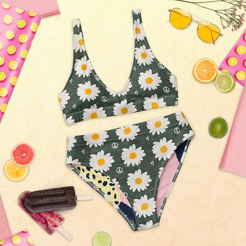 Margarida Peace - Recycled high-waisted bikini