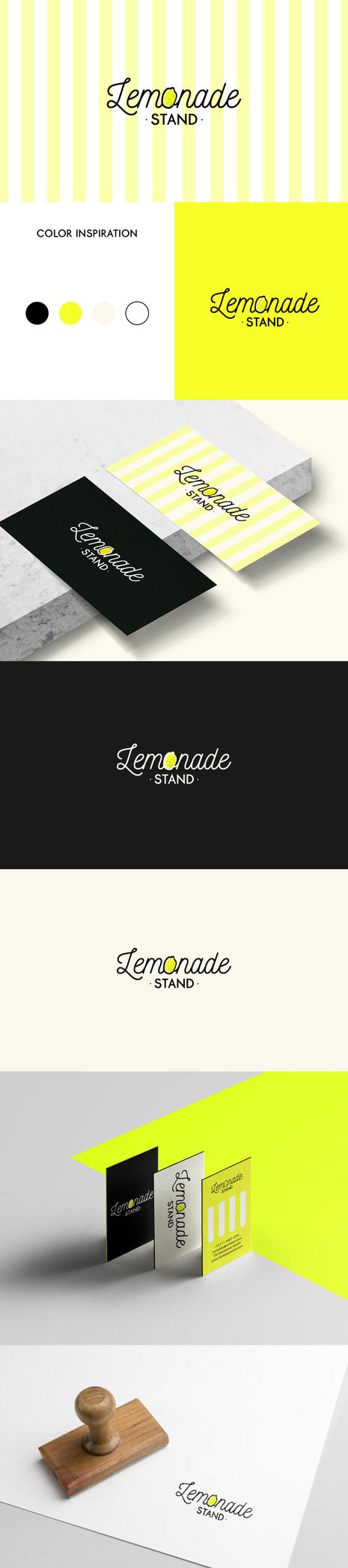 LEMONADE STAND LOGO DESIGN