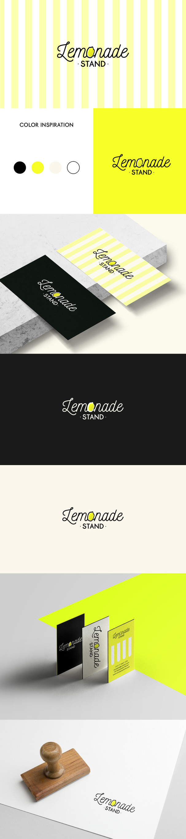 LEMONADE STAND LOGO DESIGN