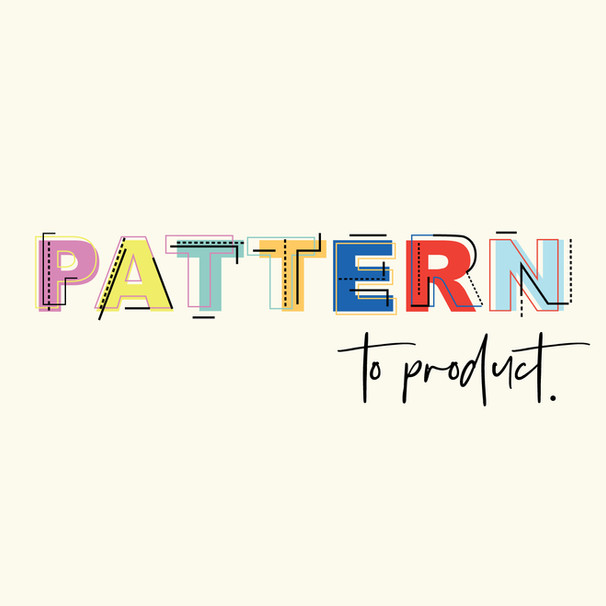 Pattern To Product logo design