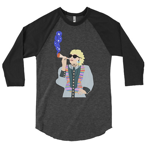 Santa Maria Girl - 3/4 sleeve raglan shirt