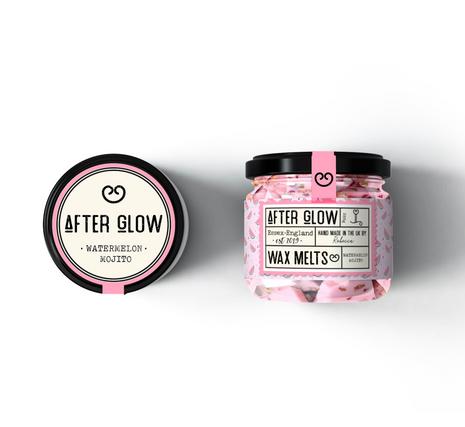 After Glow Label Design