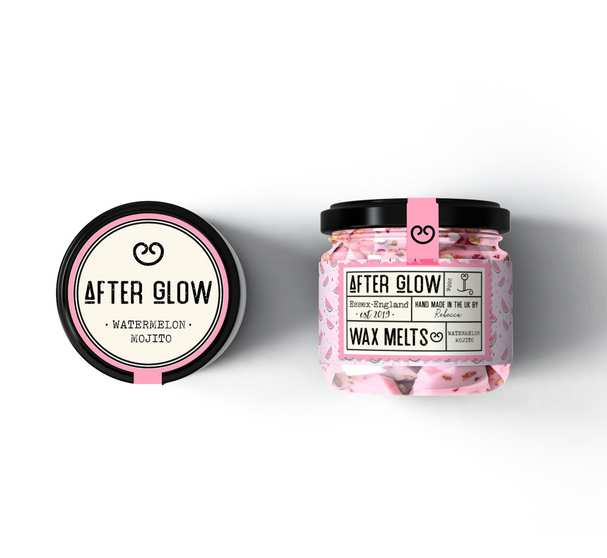 After Glow Label Design