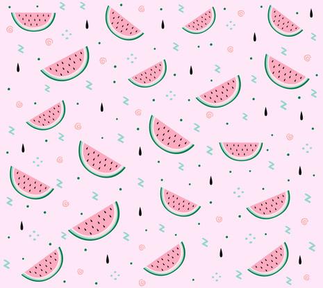 watermellow-pattern-design