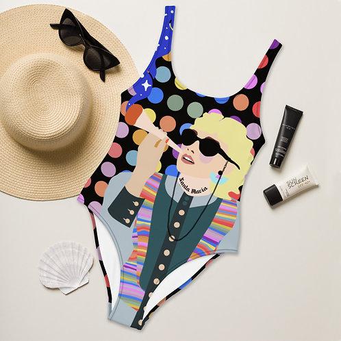 Santa Maria Girl - One-Piece Swimsuit