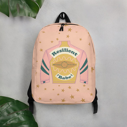Resilient Babe - Minimalist Backpack