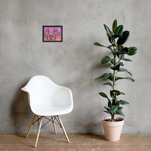 Oncinha - Framed photo paper poster
