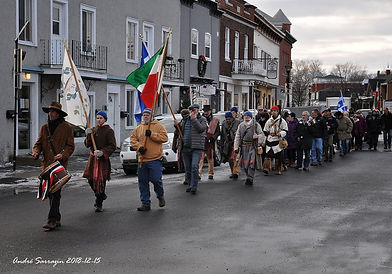 Marche des Patriotes Saint-Eustache A Sa