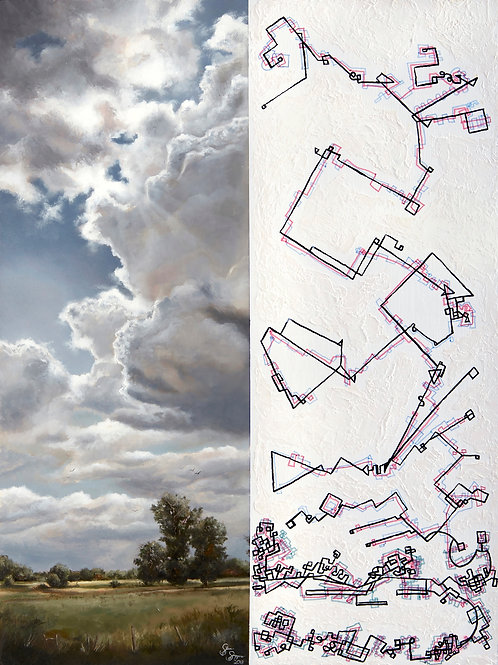 Limited Edition Signed Print - Collapse: Of the Environment #2 - Edition of 10