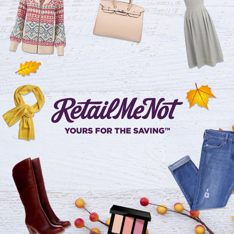 Client: RetailMeNot Production by Joe Carty  Script/copy, test plan and visuals and breif created at Social Fulcrum, Creative Services Dept.