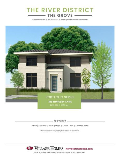 Village Homes River District Flyer