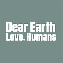 Dear Earth Logo White