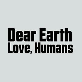 Dear Earth Logo B&W