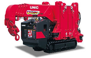 UNIC URW-295, мини-кран, кран паук, кран манипулятор