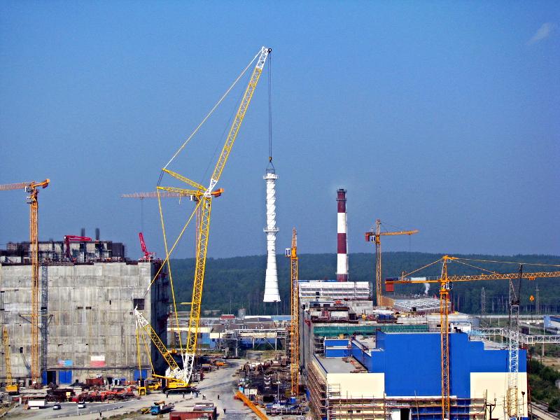 Площадка строительства БАЭС-4