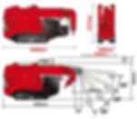 Мини-кран манипулятор UNIC UR-W295C