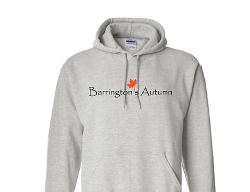 Barrington's Autumn Hoodie