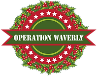 Operation Waverly Logo with wreath behin