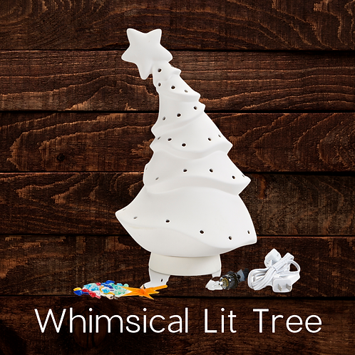 WHIMSICAL LIT TREE