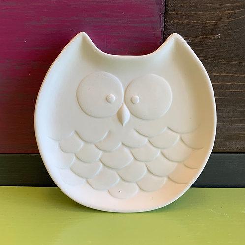 Small Owl Dish