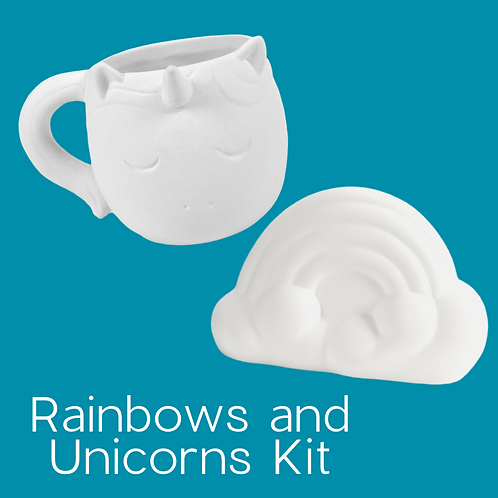 RAINBOW AND UNICORN KIT
