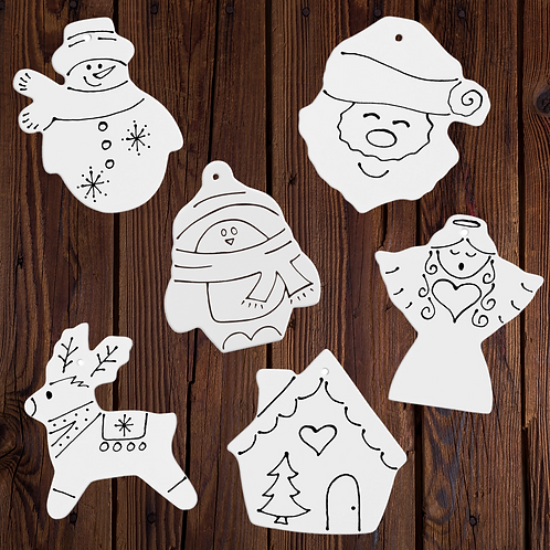 Classic Ornament Family Pack