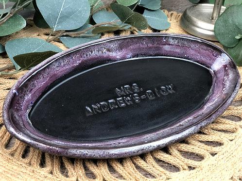 Black Beard's Oval Dish