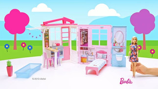 BARBIE Estate Close and Go House Accessories