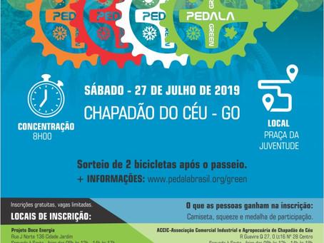 Pedala Green 2019 - Chapadão do Céu GO