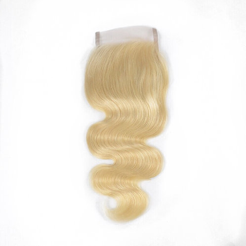 Russian Blonde Body Wave Closures