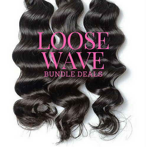 Brazilian Loose Wave Bundle