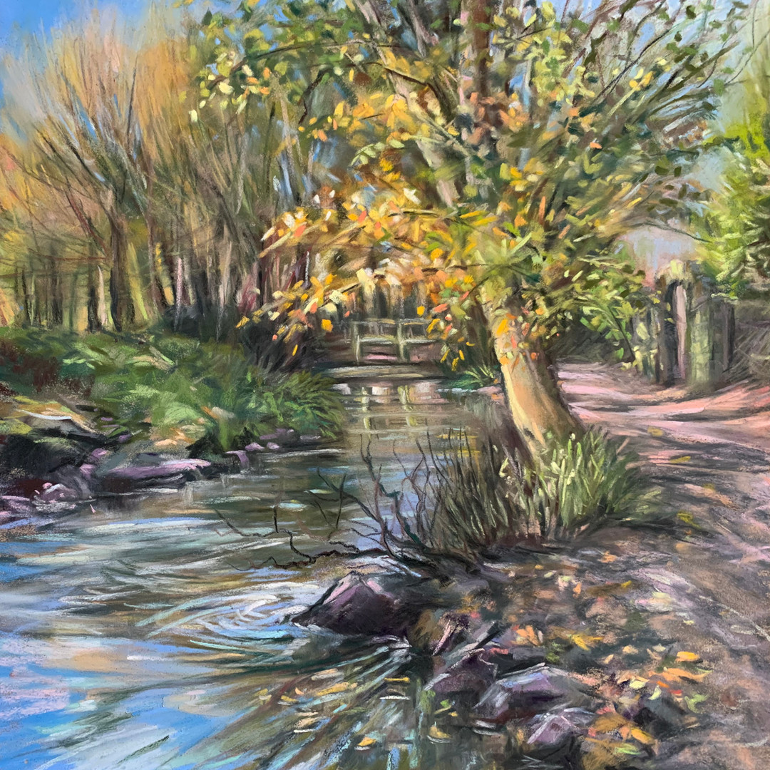 Meanwood Valley in Autumn