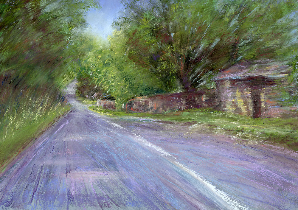 competition, Ilkley Art Show, pastel painting