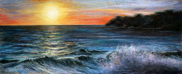 Vazon Bay Sunset