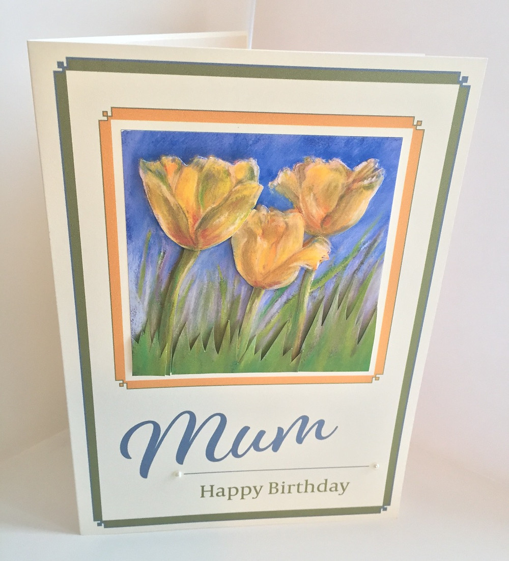 Decoupage Birthday Card