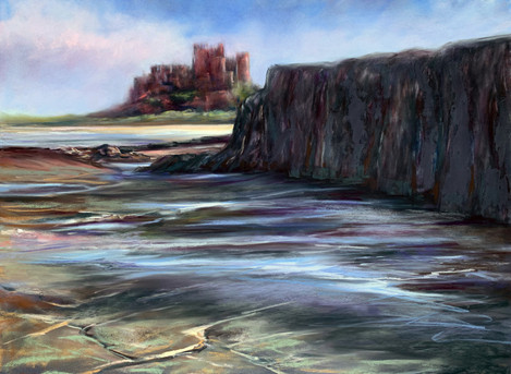 Breathtaking View over Bamburgh