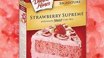 STRAWBERRY CAKE MIX( 1 BOX)
